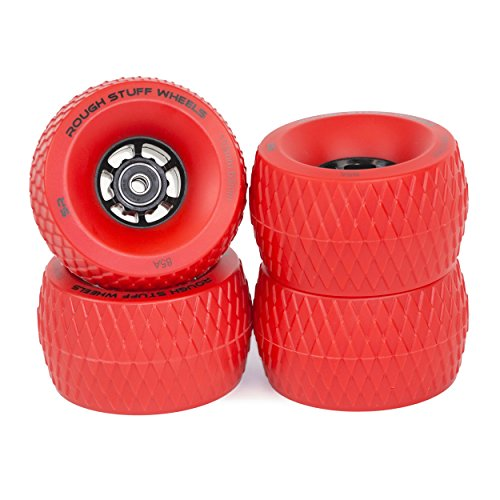 Ruedas de patinaje Slick Revolution:Juego de 4 ruedas cruiser tamaño jumbo de 110 mm con...