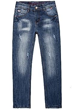 Pantalones niños denim jeans stretch slim fit 7-16 Años 2018 Nuevo diseño