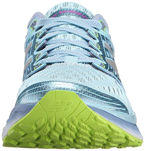 New Balance Women's Fresh Foam 1080v6 Running Shoe Blue/Grey