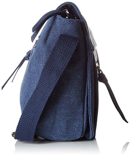 Le Temps des Cerises - Jiro 6, Borse a tracolla Donna Blu (Bleu)