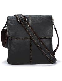 New Men Bag Fashion Leather Crossbody Bag Shoulder Men Messenger Bags Small Casual Designer Handbags Man Bags - B07B28KZTH