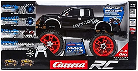 Carrera RC 370162083 - Ford F-150 SVT Raptor schwarz / Maßstab 1:16