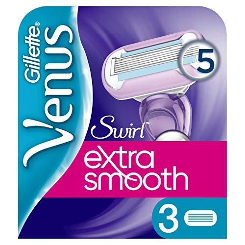 Gillette Venus Extra Smooth Swirl Ersatzklingen, 3 Stück