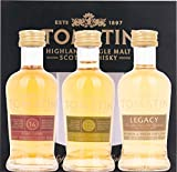 Tomatin Cooper's Choice Miniset Whisky, 0.15 l
