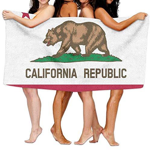 California-Flag DIY Design Bath Towels Stylish Bath Cloth