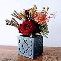 Maceta cúbica Panots personalizable, jarrón, florero, vase, resina cerámica, colores personalizados, diseño exclusivo, barcelona, pot, vase
