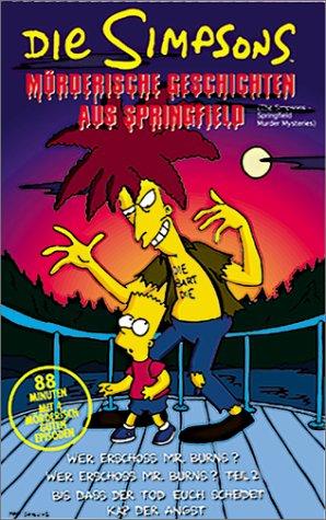 Die Simpsons - Mörderische Geschichten aus Springfield [VHS]