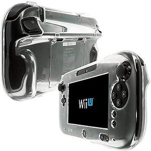 Hartschale für Nintendo Wii U Gamepad Controller, transparent