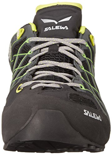 Salewa Wildfire S Gore-Tex Halbschuh, Chaussures de Randonnée Homme Noir (Black/citro 0924)