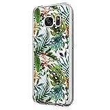 Schutzhülle Für Samsung Galaxy S6/Galaxy S6 Edge/Galaxy S6 Edge Plus, Silikonhülle Einfache Und Schöne Blumen Design Crystal Clear Tpu Slim Case Cover Für Samsung Galaxy S6 (8, S6)