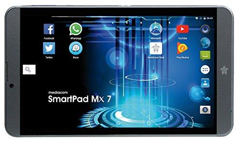"""Mediacom SmartPad MX 7, Display 7"""" IPS, 16 GB, Processore MT8735D Quad Core 1.1GHz"""