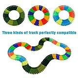 Car Track mit 2 Dinosaurier und Auto Rennbahn Spiel Set Montage Spielzeug für Kinder ab 3 4 5 Jahre - 7