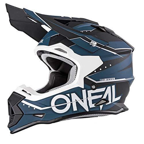 O\'Neal 2 Series RL Motocross Enduro MTB Helm Slingshot schwarz/blau/weiß 2018 Oneal: Größe: L (59-60cm)
