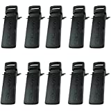 Tenq Belt Clip For Baofeng Uv-5r Uv-5ra Uv-5rb Uv-5rc 5rd 5re 5re+(10 Pack)
