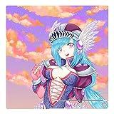 'DISAGU SF-Contrôleur 3370_ 1009Skin pour Sony PS3Slim avec SDI–Motif'ecchi Girl Fantasy Transparent