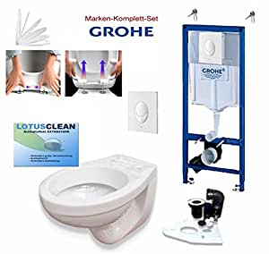 grohe sp lkasten vorwandelement wc set design wc dr ckerplatte weiss komplett. Black Bedroom Furniture Sets. Home Design Ideas
