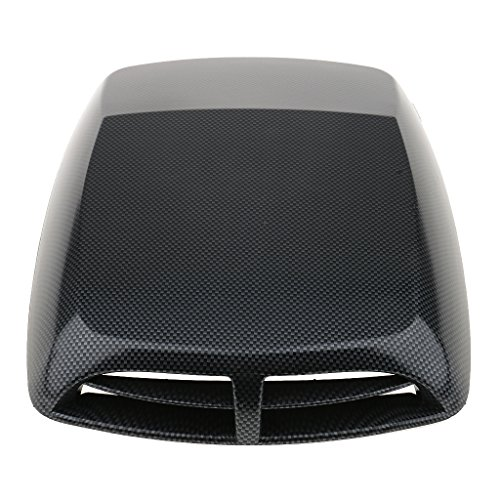 gazechimp Universal Lufteinlass Lufthutze Motorhaube Air Flow Motorhaube Scoop Turbo - Motorhaube Air