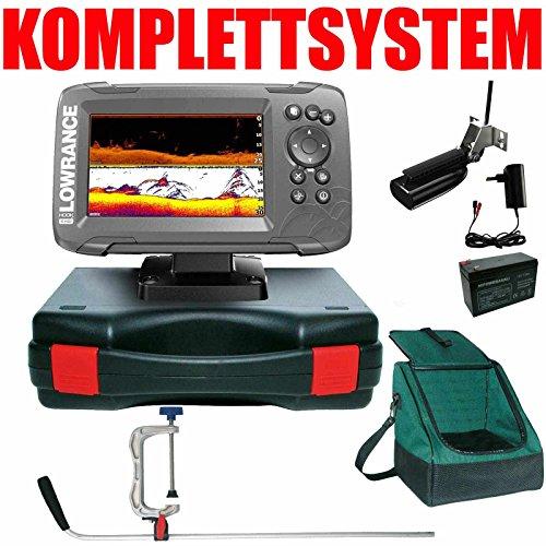 Lowrance Echolot GPS Portabel Profi Plus Hook2 5 SplitShot HDI Chirp Combo GPS Lowrance Combo Gps