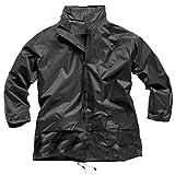 : Hari Deals Boys Girls Waterproof Light Kagoul Raincoat Jacket 4-16 Years