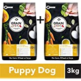 Grain Zero Puppy Dry Dog Food, 1.5 Kg (Buy 1 Get 1 Free)