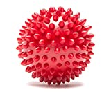 #8: Massage Ball - Spiky for Deep Tissue Back Massage, Foot Massager, Plantar Fasciitis & All Over Body Deep Tissue Muscle Therapy - Your Compact Muscle Roller Color Assorted by RPM Sports