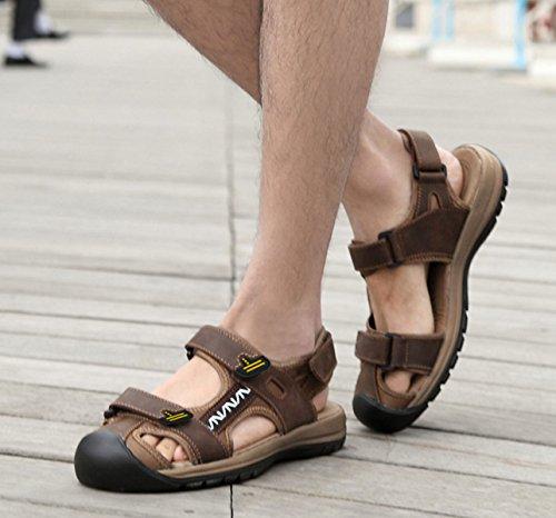 Sandalen Sandalen Männer Hausschuhe Outdoor-Watschuhe Red