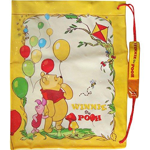 Motif Disney Winnie l'Ourson avec bouton pression activités sportives & Sac de piscine