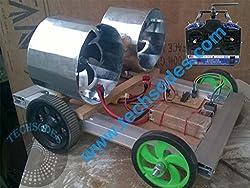 Jet Propeller RC Car Assembled