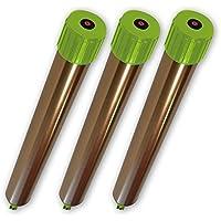 ISOTRONIC Maulwurfabwehr Vibrasonic NEU: mit Vibrationsmotor batteriebetrieben - Wühlmausfrei, Wühlmausschreck, Wühlmausvertreiber, Wühltierfrei, Maulwurfschreck, Schlangenabwehr