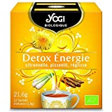 Best Yogi detoxes - Yogi - Infusion Detox Energy Lemongrass Dandelion Licorice Review