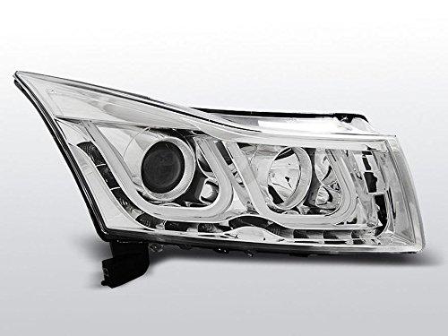 Tube Light Set di fanali, Chevrolet Cruze BJ 09-12Vetro Trasparente/Chrome - Chevrolet Vetro