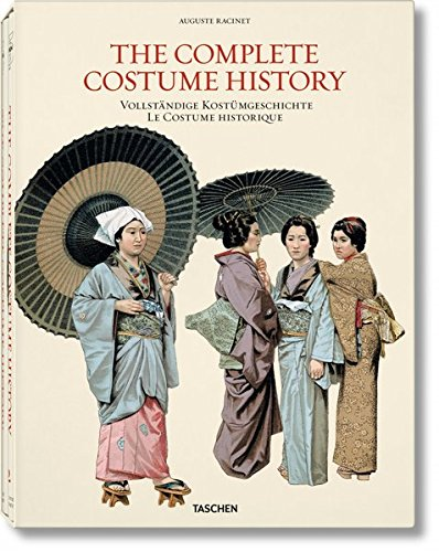 The complete costume history. Ediz. inglese, tedesca e francese