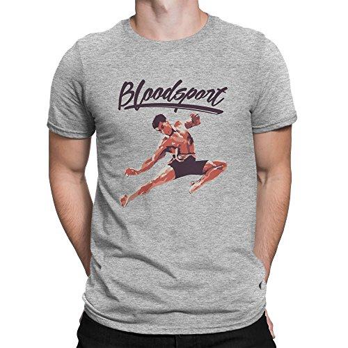 Bloodsport Vintage Jean Claude Van Damme Homme T-shirt M