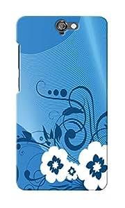 CimaCase Floral Designer 3D Printed Case Cover For HTC One A9