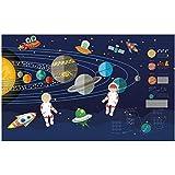 YShasaG Seidenwandbild Benutzerdefinierte Wandbild 3D Fototapete Rocket Space Astronaut Dekoration Malerei Bild 3D Wandmalereien Tapete Für Wände 3 D,350cm*260cm