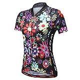 Homyl Maglia da Ciclista Estiva Donna Sport Abbigliamento Ciclismo Magliette Sportive - Colore A, M