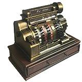 Indhouse - Caja registradora vintage decorativa de metal