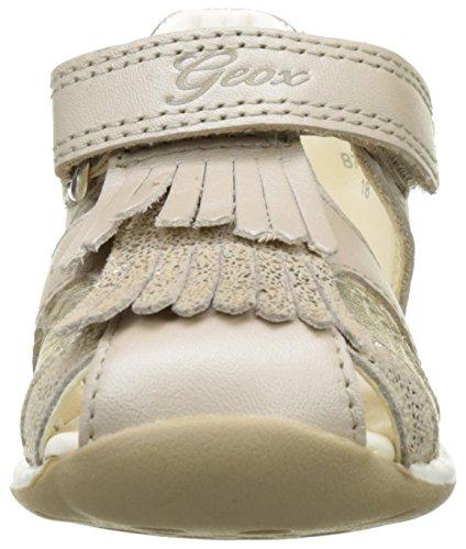 Geox B Each E, Chaussures Marche Bébé Fille Beige (Beige/Goldc0512)