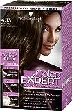Schwarzkopf Color Expert Intensiv-Pflege Color-Creme, 4.13 Kühles Dunkelbraun Stufe 3, 3er Pack (3 x 167 ml)