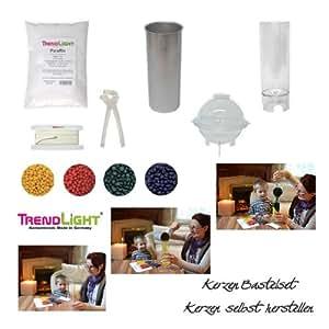 trendlight 860491 kit de loisirs cr atifs pour fabriquer ses propres bougies. Black Bedroom Furniture Sets. Home Design Ideas