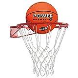 Basketball Set inkl. Basketballkorb Basketball Basketballnetz und Basketballring