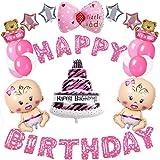 MMTX fuentes de decoraciones de fiesta de cumpleaños, feliz Ballon...