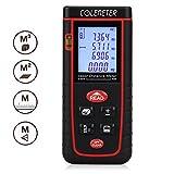 COLEMETER Télémètre Numérique Mesure / mesureur / calcul Mètre Distance Zone Surface Volume 0.2-40m (rouge)