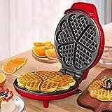 Waffle Maker Creatore della cialda Ferro da stiro - 5 Slice antiaderente Indicatore Coating disegno automatico di riscaldamento spessa Double-Sided riscaldamento Facile da pulire - 800W waffle maker r