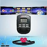 AsVIVA Unisex- Erwachsene Crosstrainer & Heimtrainer C16 Bluetooth rot 2 in 1 Cardio Crosstrainer, One Size