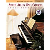 Alfred's Basic Adult All-In-One Course, Bk 1: Lesson * Theory * Technic, Book & DVD (Alfred's Basic Adult Piano Course)