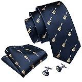 Barry.Wang - Cravate - Homme - Bleu - Taille Unique