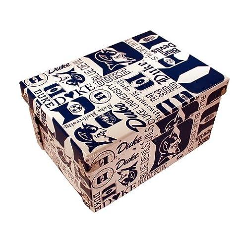 NCAA Duke Blue Devils Collapsible Boxxer Storage Boxes 4-Pack