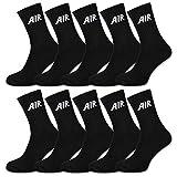 sockenkauf24 10 Paar AIR Damen & Herren Socken Sportsocken Baumwolle