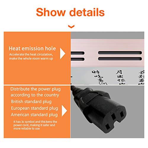 HL Infrarot Heizung Panel Wand Carbon Kristall Infrarot Heizung Badezimmer Home Office Bild 5*